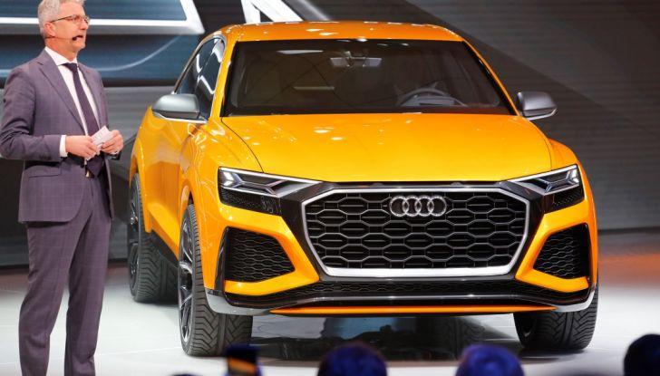 Audi Q8 Concept, il SUV coupé top di gamma - Foto 11 di 28