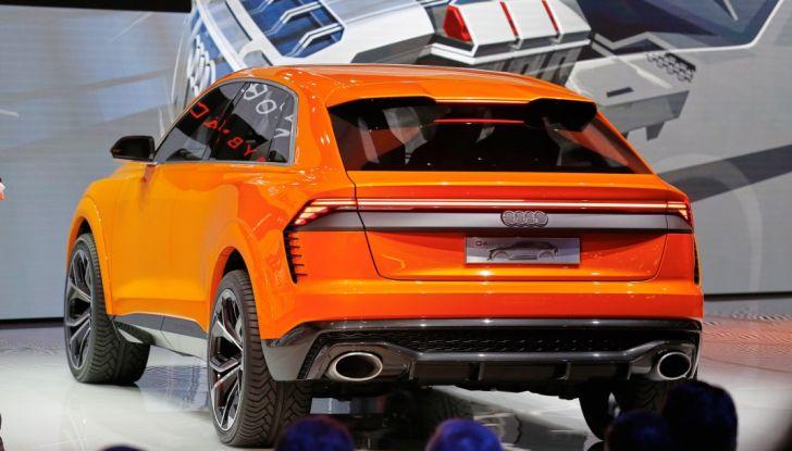 Audi Q8 Concept, il SUV coupé top di gamma - Foto 12 di 28