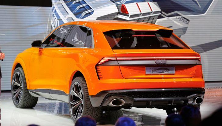 Audi Q8 Concept, il SUV coupé top di gamma - Foto 13 di 28