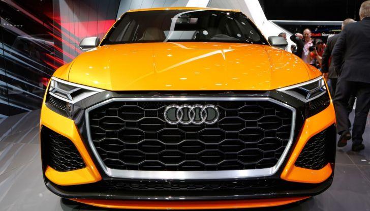 Audi Q8 Concept, il SUV coupé top di gamma - Foto 14 di 28