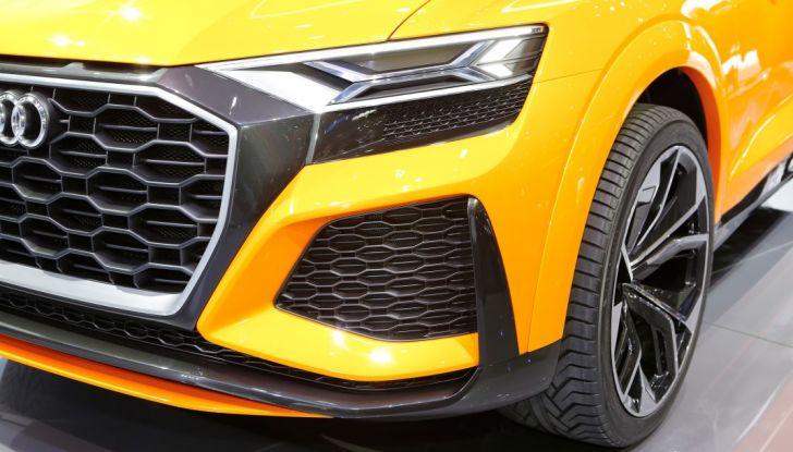 Audi Q8 Concept, il SUV coupé top di gamma - Foto 15 di 28