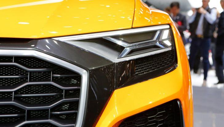 Audi Q8 Concept, il SUV coupé top di gamma - Foto 16 di 28