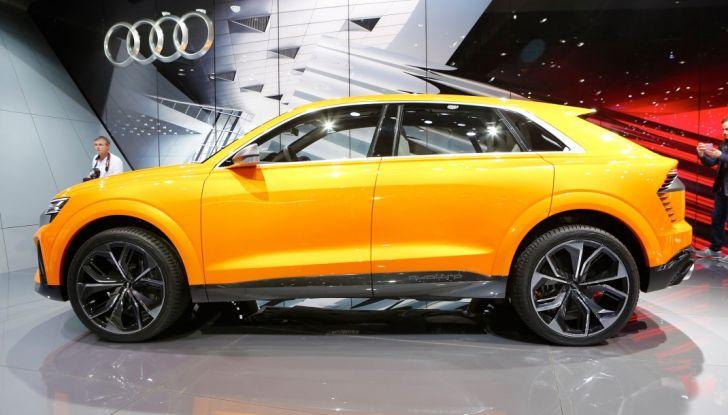 Audi Q8 Concept, il SUV coupé top di gamma - Foto 17 di 28