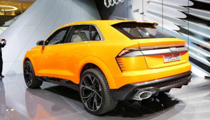 Audi Q8 Concept, il SUV coupé top di gamma - Foto 18 di 28