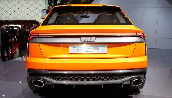 Audi Q8 Concept, il SUV coupé top di gamma - Foto 19 di 28