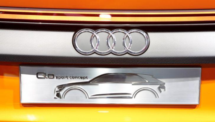 Audi Q8 Concept, il SUV coupé top di gamma - Foto 20 di 28
