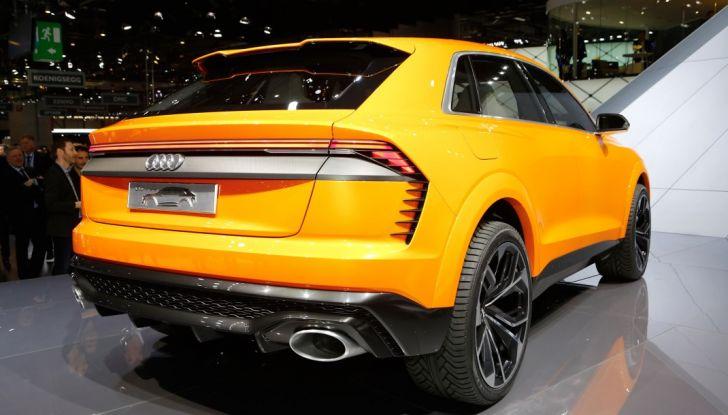 Audi Q8 Concept, il SUV coupé top di gamma - Foto 22 di 28