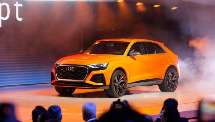 Audi Q8 Concept, il SUV coupé top di gamma - Foto 28 di 28