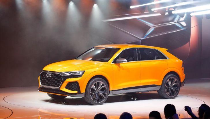 Audi Q8 Concept, il SUV coupé top di gamma - Foto 2 di 28