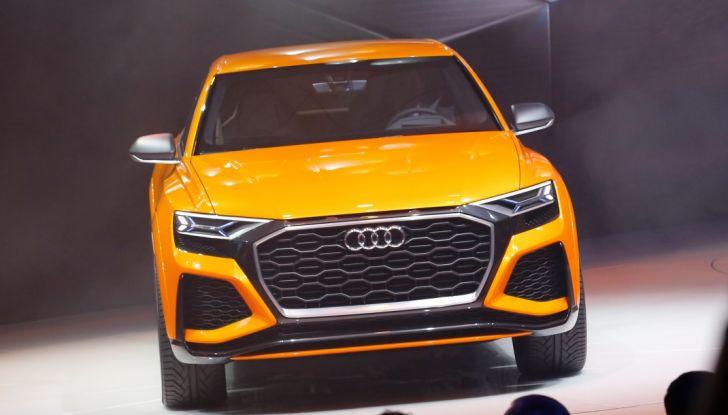 Audi Q8 Concept, il SUV coupé top di gamma - Foto 4 di 28