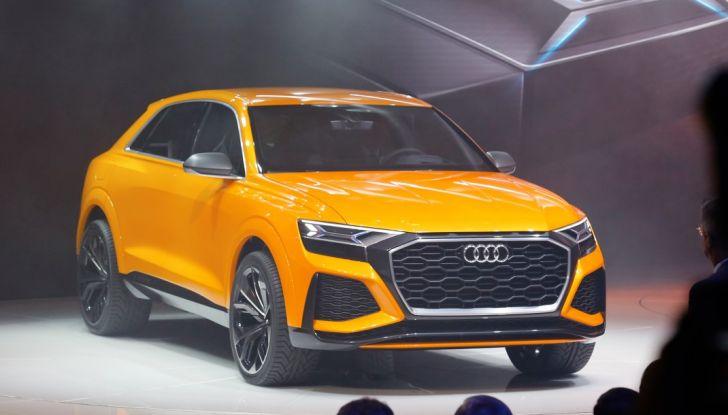 Audi Q8 Concept, il SUV coupé top di gamma - Foto 5 di 28