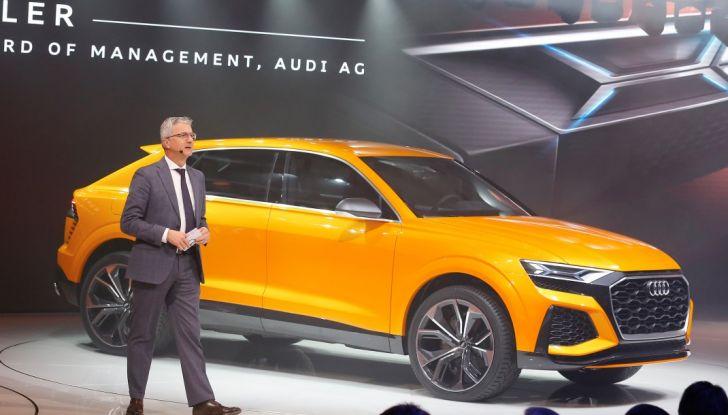 Audi Q8 Concept, il SUV coupé top di gamma - Foto 6 di 28