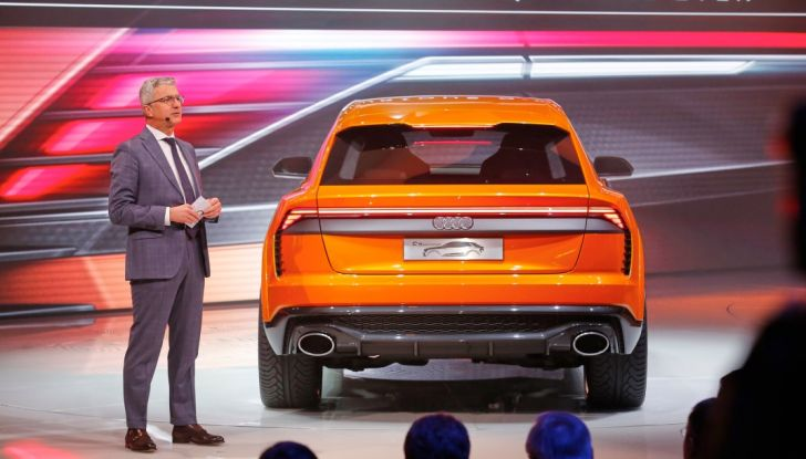 Audi Q8 Concept, il SUV coupé top di gamma - Foto 7 di 28
