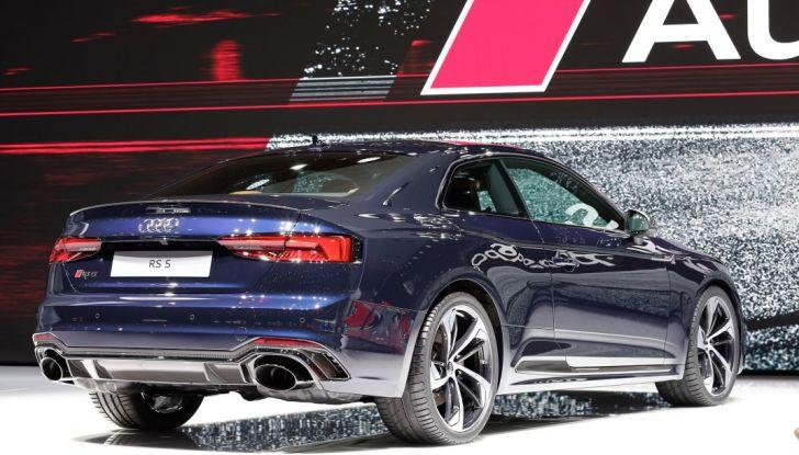 Audi RS5 Coupé: tagliata col bisturi - Foto 12 di 30