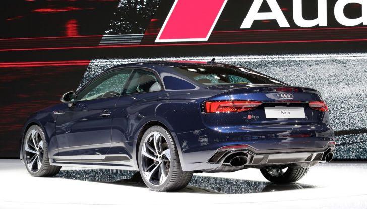 Audi RS5 Coupé: tagliata col bisturi - Foto 16 di 30
