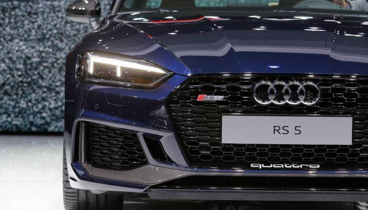 Audi RS5 Coupé: tagliata col bisturi - Foto 30 di 30