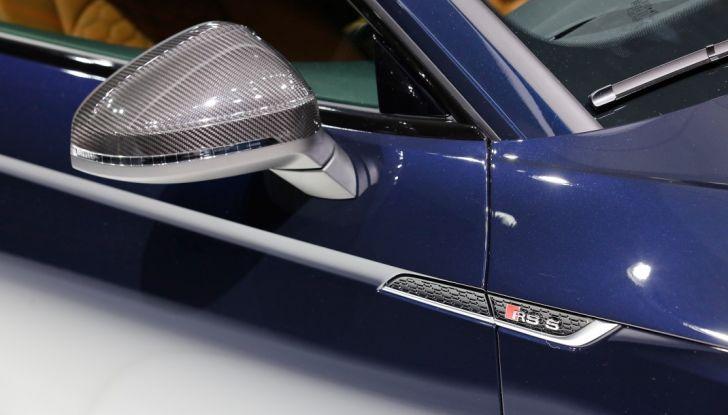 Audi RS5 Coupé: tagliata col bisturi - Foto 5 di 30