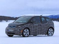 BMW i3 Facelift 2018, immagini spia e primi dettagli