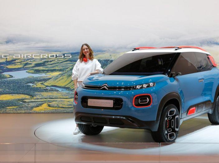 Citroën C-Aircross Concept - Foto 9 di 11