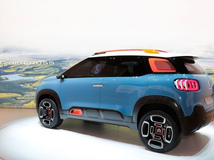 Citroën C-Aircross Concept - Foto 7 di 11