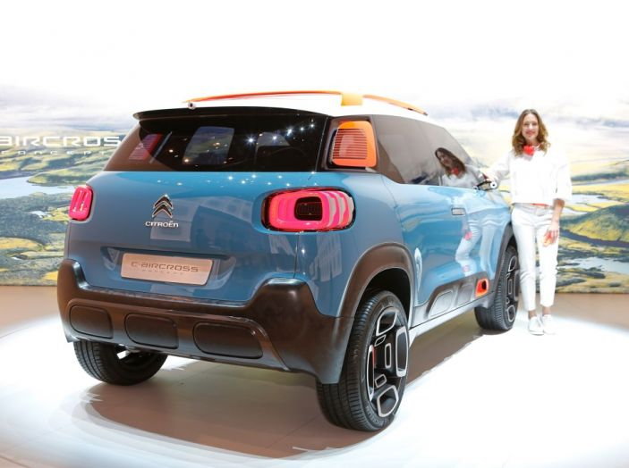 Citroën C-Aircross Concept - Foto 4 di 11