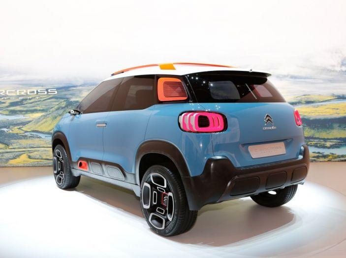 Citroën C-Aircross Concept - Foto 6 di 11