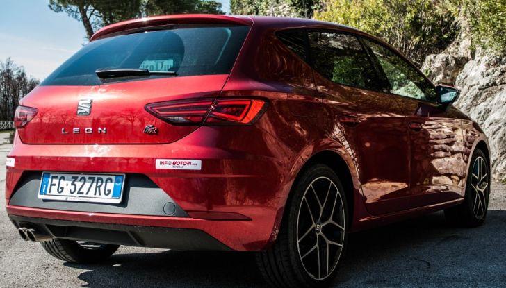 Nuova Seat Leon TGI a Metano 2019: più autonomia e prezzi da 24.415€ - Foto 4 di 32