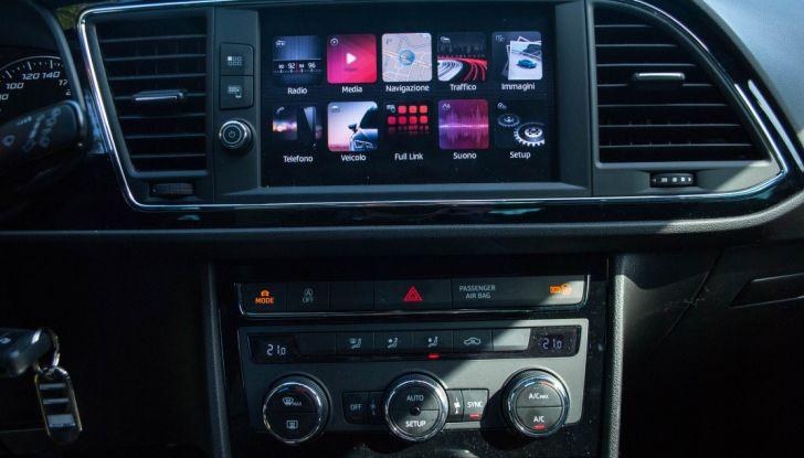 Nuova Seat Leon TGI a Metano 2019: più autonomia e prezzi da 24.415€ - Foto 17 di 32
