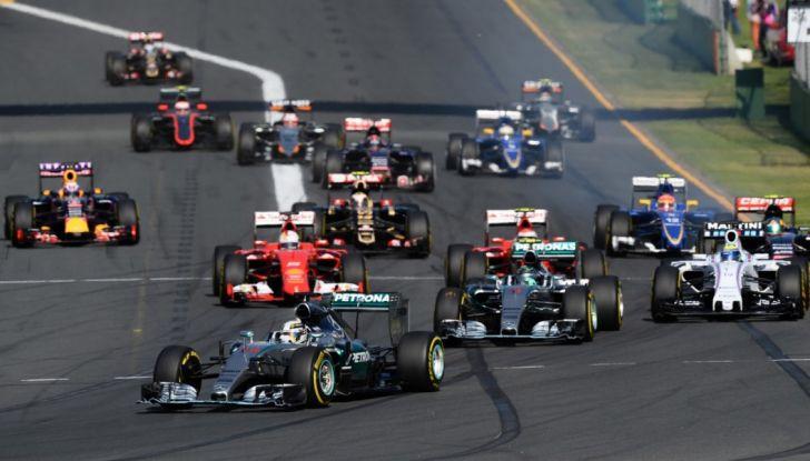 Orari Formula 1 2017, GP d'Australia in Diretta SKY e Differita RAI - Foto 5 di 8
