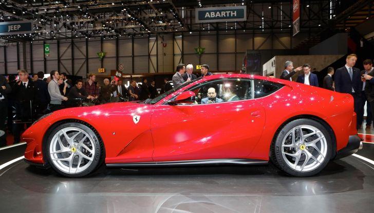 Ferrari 812 Superfast: la berlinetta V12 da 800CV - Foto 13 di 22
