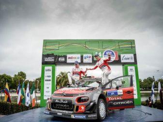 Meeke e Nagle: prima vittoria con CITROËN C3 WRC