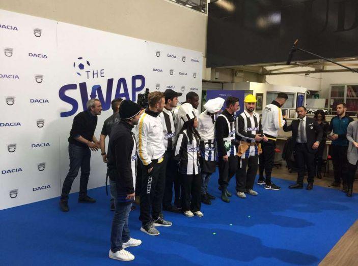 Udinese Calcio e Dacia the Swap: i giocatori friulani cambiano mestiere per un giorno - Foto 6 di 15