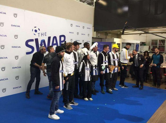 Udinese Calcio e Dacia the Swap: i giocatori friulani cambiano mestiere per un giorno - Foto 8 di 15