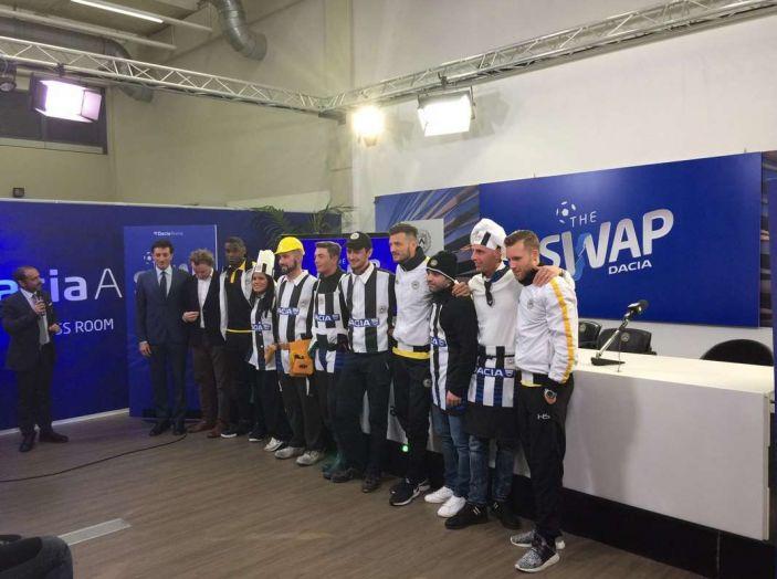 Udinese Calcio e Dacia the Swap: i giocatori friulani cambiano mestiere per un giorno - Foto 12 di 15