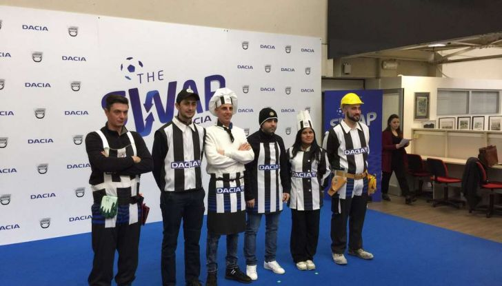 Udinese Calcio e Dacia the Swap: i giocatori friulani cambiano mestiere per un giorno - Foto 13 di 15