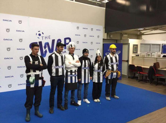 Udinese Calcio e Dacia the Swap: i giocatori friulani cambiano mestiere per un giorno - Foto 14 di 15