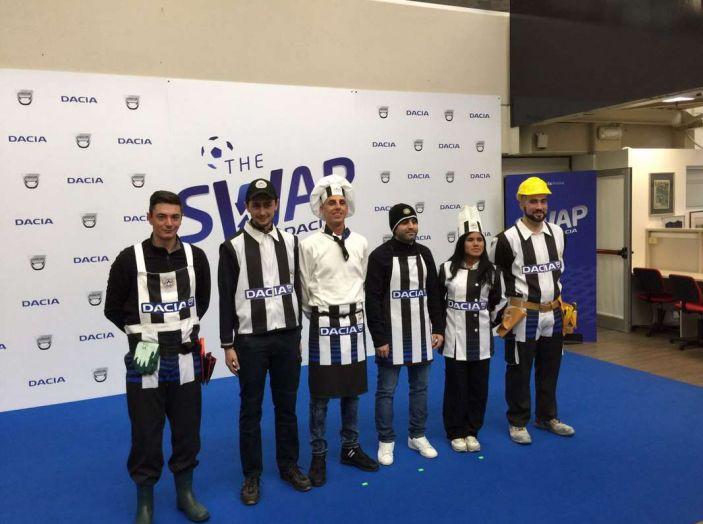Udinese Calcio e Dacia the Swap: i giocatori friulani cambiano mestiere per un giorno - Foto 2 di 15
