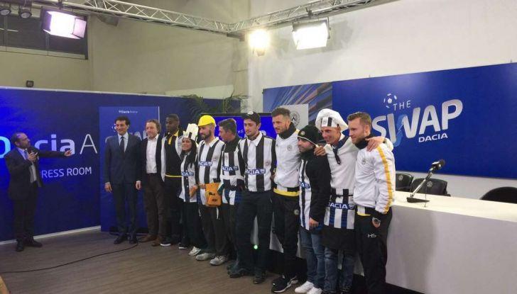 Udinese Calcio e Dacia the Swap: i giocatori friulani cambiano mestiere per un giorno - Foto 10 di 15