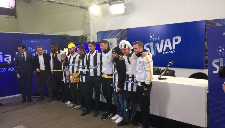 Udinese Calcio e Dacia the Swap: i giocatori friulani cambiano mestiere per un giorno - Foto 15 di 15