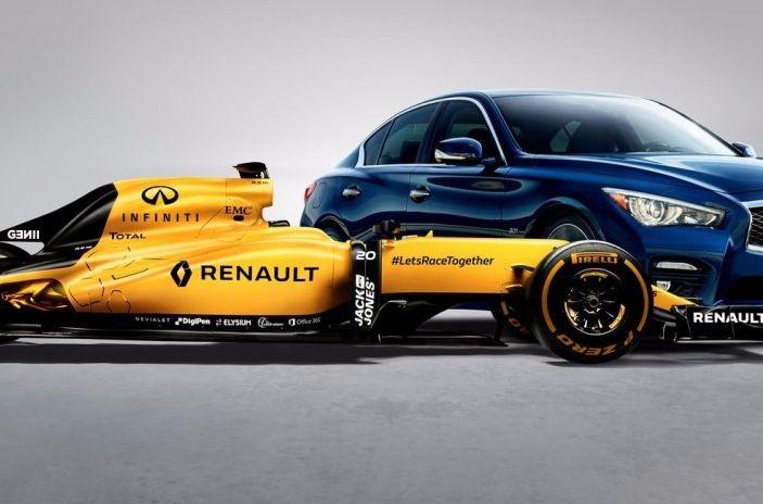 Infiniti offre un lavoro da sogno nel Team Renault Sport di Formula Uno - Foto 5 di 9
