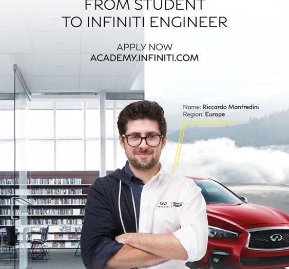Infiniti offre un lavoro da sogno nel Team Renault Sport di Formula Uno - Foto 2 di 9