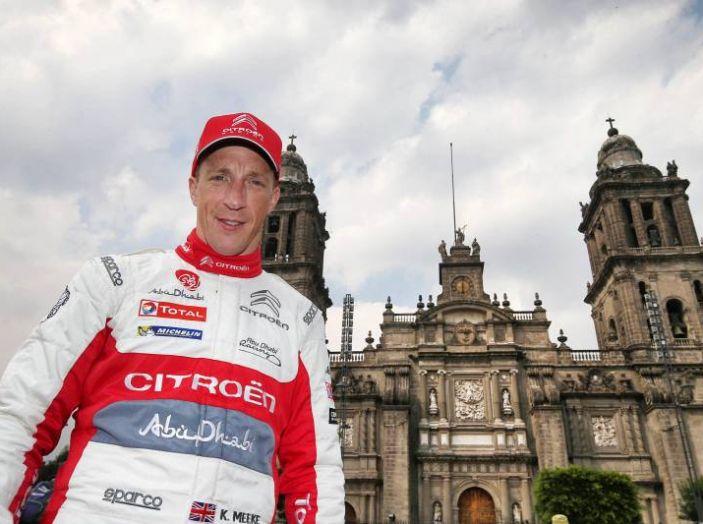 Le CITROËN C3 WRC infiammano Città del Messico - Foto 5 di 5