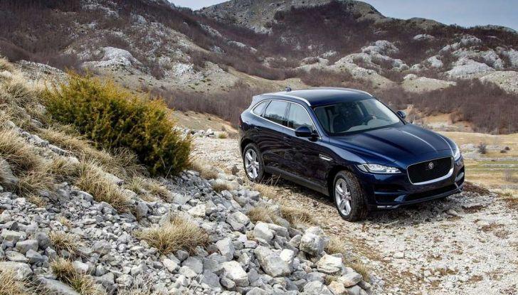 Jaguar F-Pace: gamma motori, allestimenti e prezzi - Foto 18 di 18