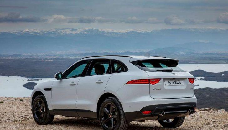 Jaguar F-Pace: gamma motori, allestimenti e prezzi - Foto 8 di 18