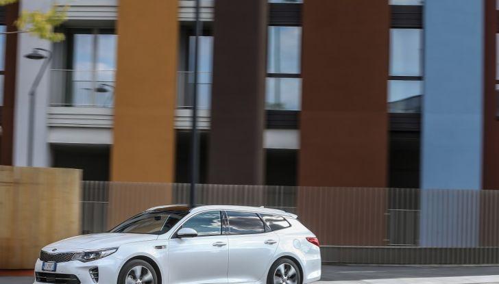 Kia Optima Sportswagon Plug-In Hybrid, evoluzione silenziosa - Foto 8 di 16