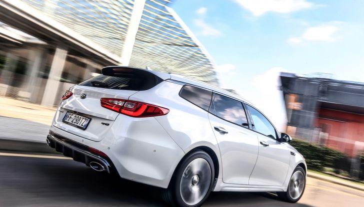 Kia Optima Sportswagon Plug-In Hybrid, evoluzione silenziosa - Foto 16 di 16