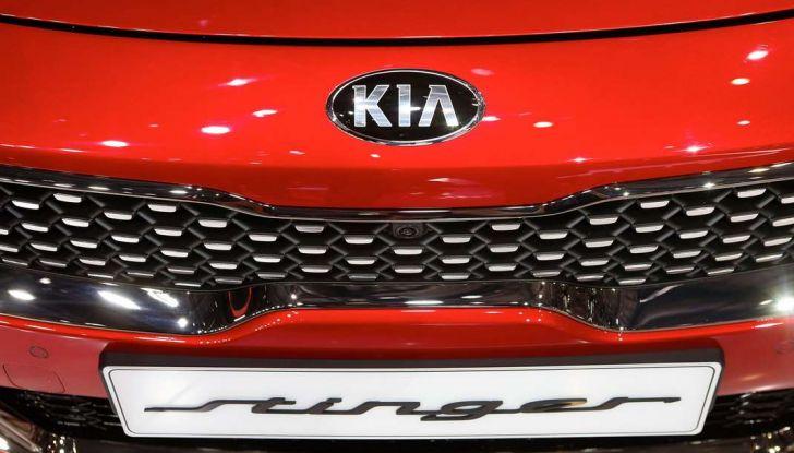 Kia Stinger, la berlina sportiva a trazione posteriore - Foto 14 di 17