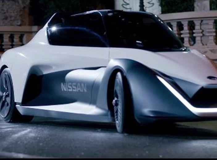 Margot Robbie testimonial di Nissan Electric Con Blade Glider - Foto 6 di 8