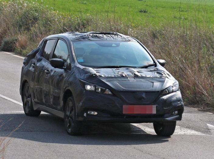 Nuova Nissan Leaf MY2018, la seconda generazione debutta entro fine anno - Foto 6 di 12