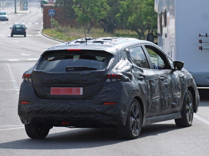 Nuova Nissan Leaf MY2018, la seconda generazione debutta entro fine anno - Foto 12 di 12